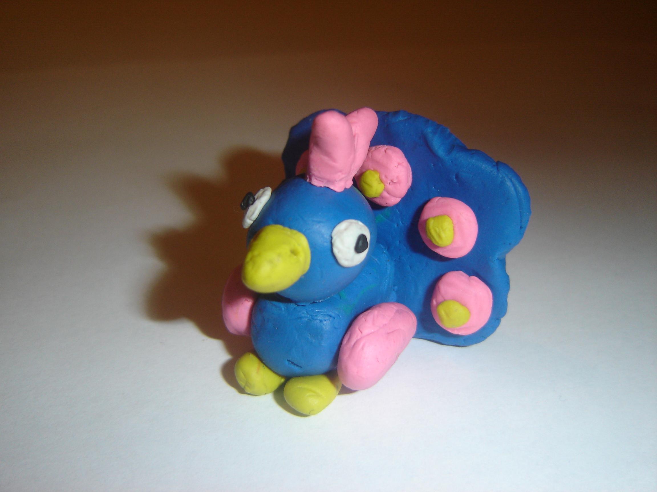 Поделки животных из пластилина для детей