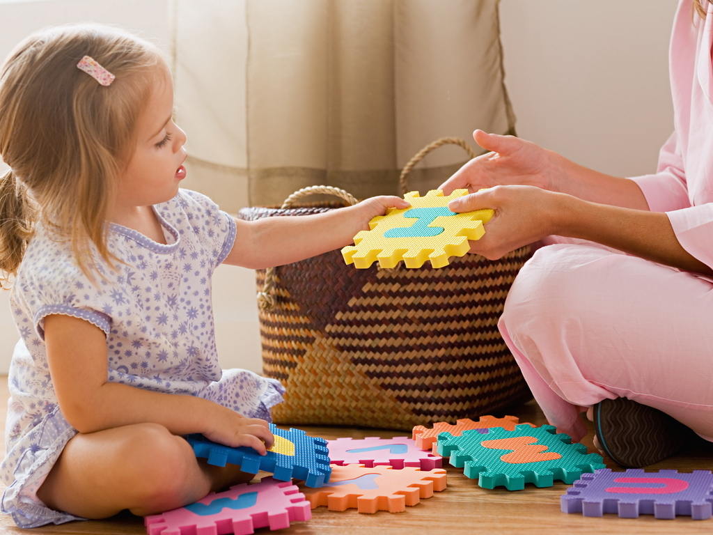 Развивающие игры для детей 3 — 5 лет